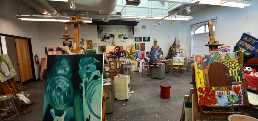 Work in the studio or explore our gallery spaces.