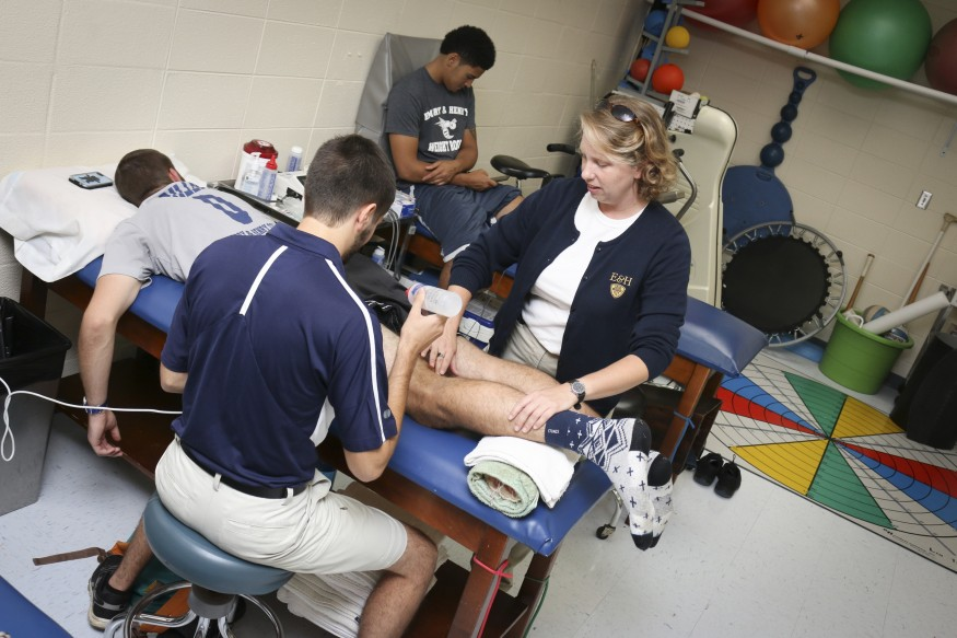 Students get hands on clinical experience with patient care