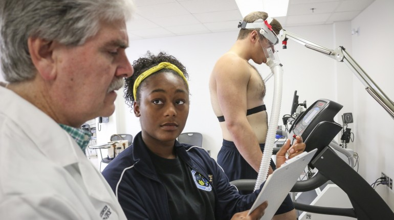 Engaging with experts in the physiology lab
