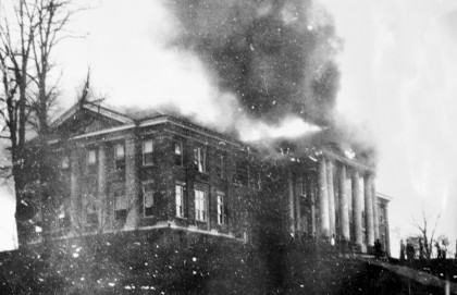 The Wiley Hall fire of 1928.