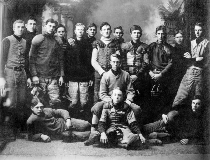 Football has been a staple in Emory & Henry's history.  Just take a look at the footbal...