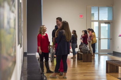 The MCA Art Gallery hosts both emerging and nationally know artists, offering students a wide var...