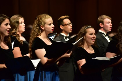 Choral performances take place throughout the year at the MCA, utilizing the state of the art aco...