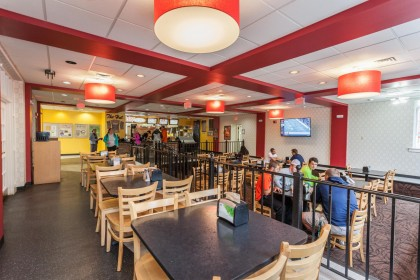 WOW Cafe, located inside the Martin-Brock Student Center, offers students another dining option i...