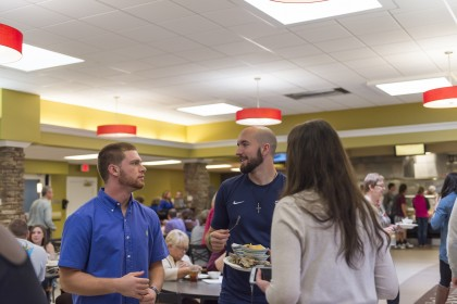In the Van Dyke Dining Hall, finding your favorite food is easy! Students, faculty and staff, hav...