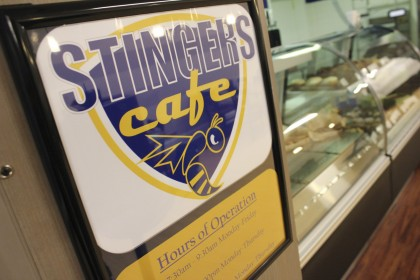 Need a quick meal?  Another dining option inside the Van Dyke Center is Stingers Cafe, offering y...