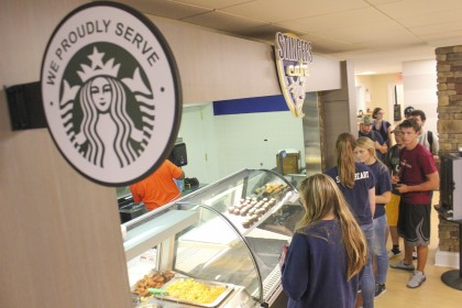 Need a caffeine pick me up?  Stingers Cafe has got you covered.  The express dining option also p...