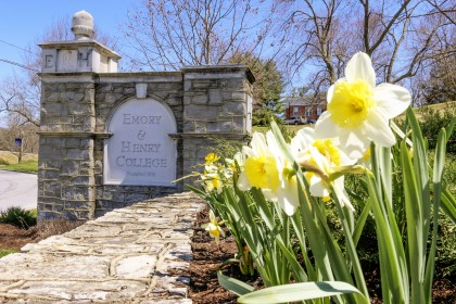 Springtime at Emory & Henry College.