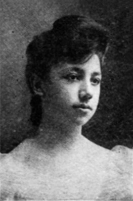 Daughter of President Richard Waterhouse, Edith Waterhouse, class of 1907, the college's first fe...