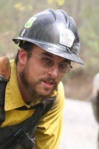 Zac Pennington has served for some years now as a Hot Shot crew leader for the U.S. Forest Service's firefighting efforts.