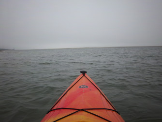 Students love our field trips - Here we are sea kayaking near Little Talbot Island, Florida