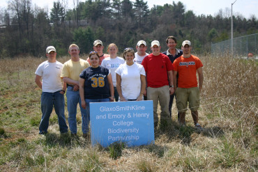 This student's habitat restoration project as an intern led to a job as land manager at the same ...