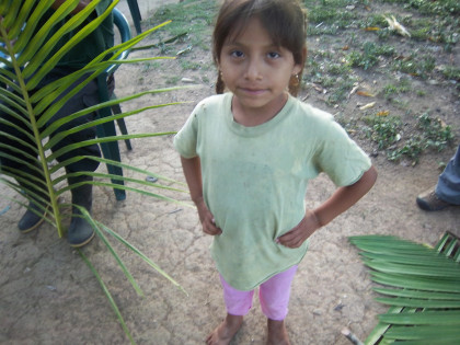 We fall in love with the children we stay with as part of our time in Belize! They are precious!