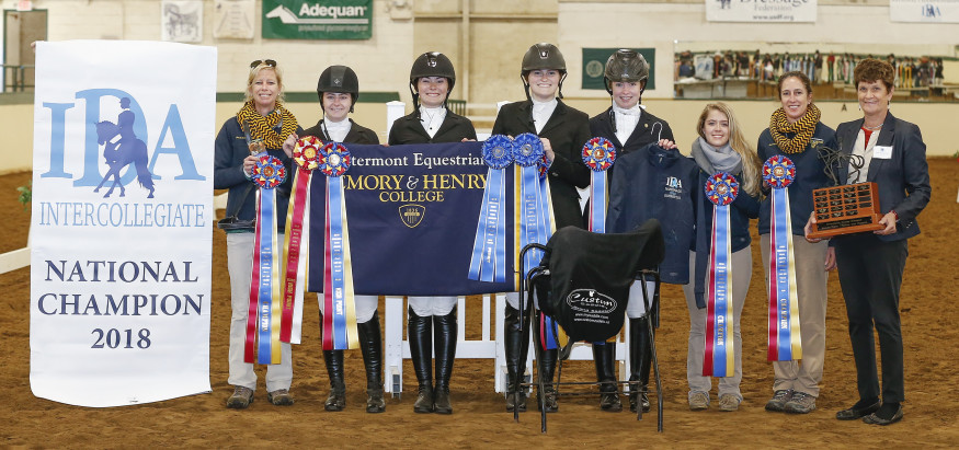 21 National Championships and counting! Intermont Equestrian wins IDA National Championship for t...