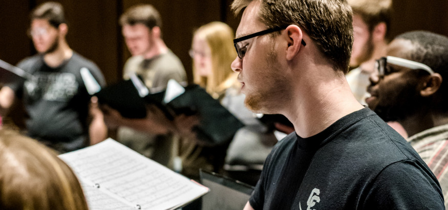 We offer various choral ensembles for our music students to explore what they're passionate about.