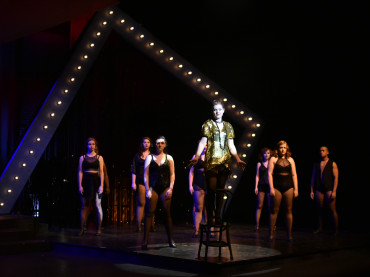 H. Kaleigh Bowyer as Sally Bowles in Cabaret