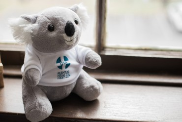 Photo of ALGEE, the Mental Health First Aid Mascot