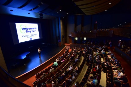 The Student Showcase at Ampersand Day held in the Kennedy-Reedy Theatre at the MCA features five ...