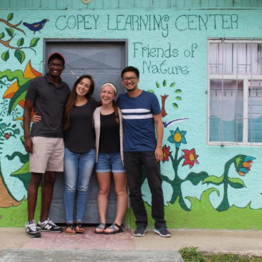 Emory & Henry students in Costa Rica.