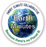 Earth minute logo