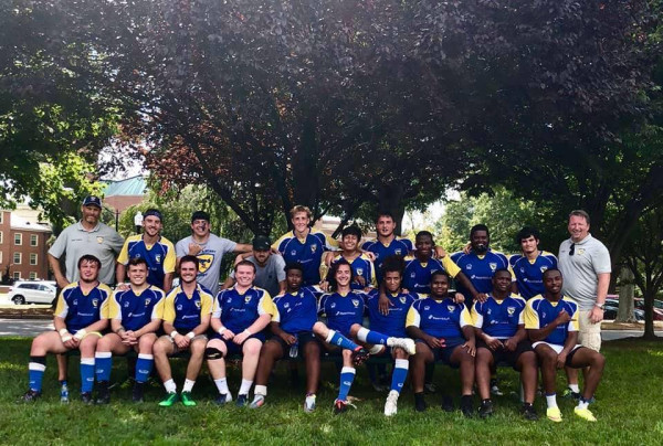 The E&H Rugby Team.