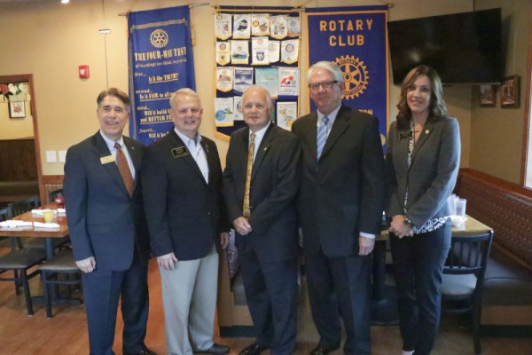 The generous gift from the Rotary Club will fund a scholarship for students from Washington County.