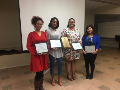 Social Justice Awards, honoring students and employees who work for social change.
