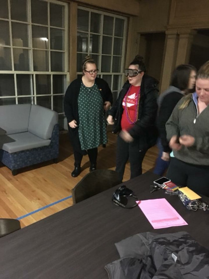 Drunk Goggles simulation