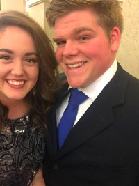 Emily Carrier Dennison, Emory & Henry Class of 2015 and Drew Dennison, Emory & Henry Clas...