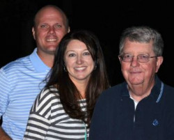 Doug Green Wendy McGlohn Green and Phil Young with