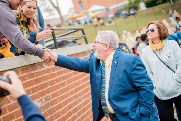 A beautiful day at Emory & Henry as alumni and friends celebrated annual Homecoming festiviti...