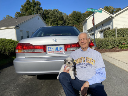 CONTEST WINNER! From Ed Boye '67: Abbie is a rescue. She rescued us. As I sat on the floor of the...