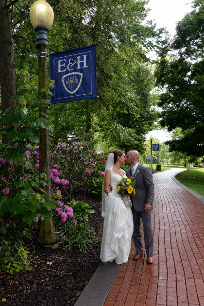 Our campus provides a beautiful setting for your wedding.