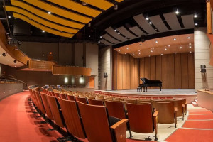 McGlothlin Center for the Arts main stage theatre.