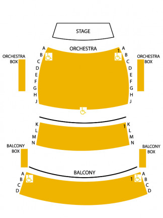 MCA Theatre Layout