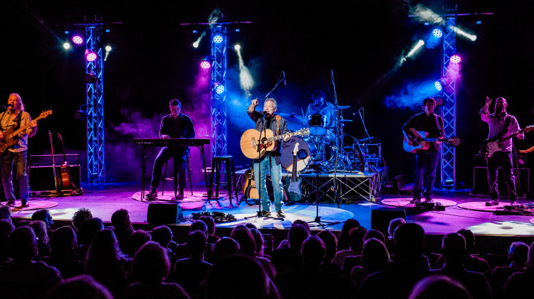 Country music artist John Berry performing at the McGlothlin Center for the Arts Kennedy-Reedy Th...