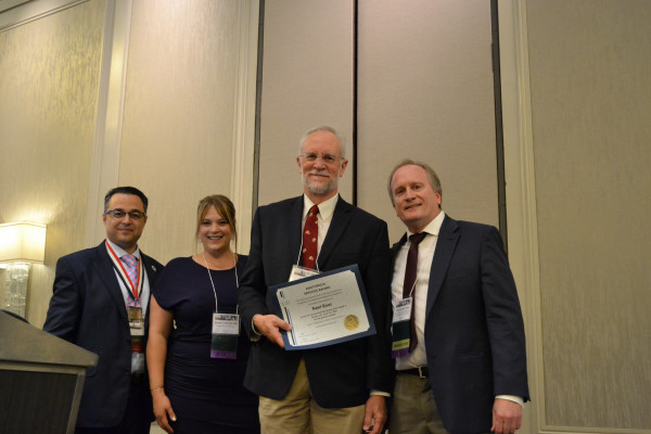 Dr. Boaz honored with Anatomical Services Award at 2018 AACA Annual Meeting
