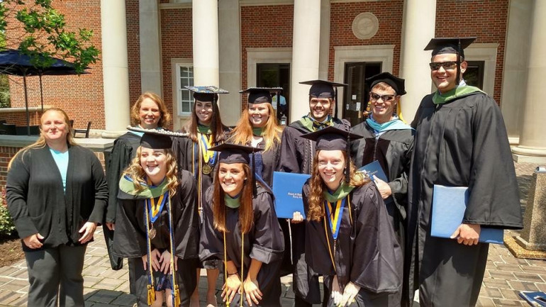 2016 Athletic Training Department Graduates