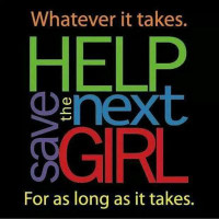Help Save the Next Girl logo.