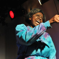Mzuri Moyo Aimbaye is commemorating the 50th year of the Civil Rights Act with her one-woman play...