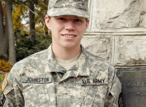 Cadet Emily Johnston
