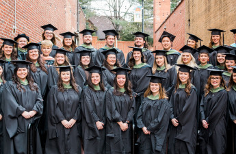 Class of 2018 Master's of Occupational Therapy