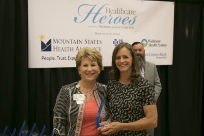2017 Healthcare Heroes presented by the The Business Journal of the Tri-Cities, TN/VA