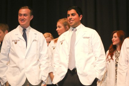 2017 White Coat Ceremony for Physician Assistant Studies Program