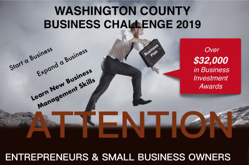 Washington County Business Challenge promotion