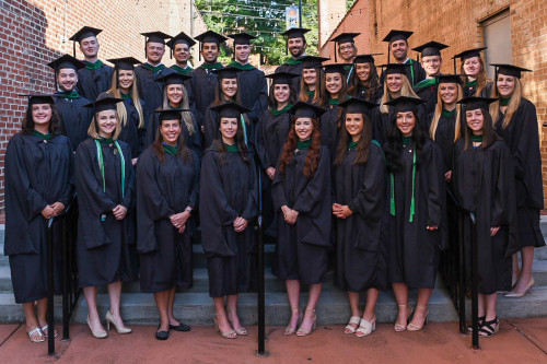 The inaugural class of Masters of Physician Assistant Studies students
