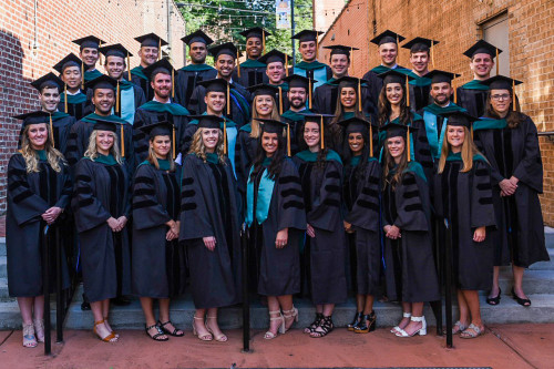 Class of 2019 Doctorate of Physical Therapy students