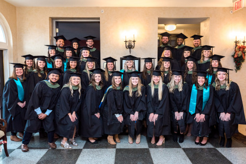 The Master's of Occupational Therapy Class of 2019.