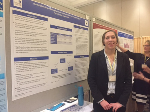Myranda Staiano Presents her Poster at the 2017 SEPA Confernece