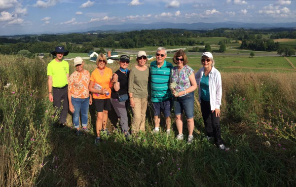 In 2016 participants hiked to the E&H radio tower to enjoy a view of Southwest Virginia they ...